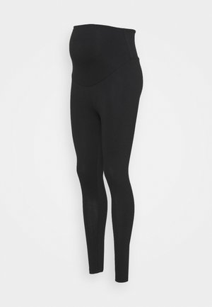 ROLL YOGA PANTS - Joggebukse - black