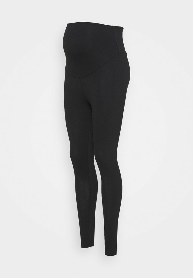 ROLL YOGA PANTS - Spodnie treningowe - black