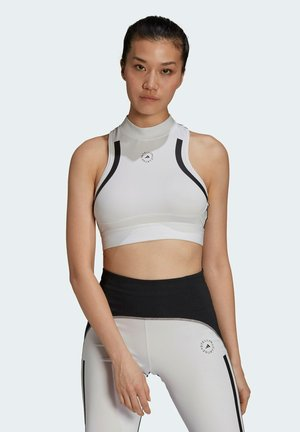 High support sports bra - white