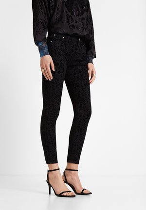 PANT_ROSENDA - Jeans slim fit - black