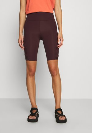 RACE BIKE - Leggings - mahogany