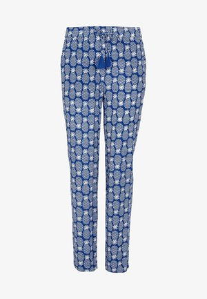 BEMBRIDGE - Trousers - gipfelblau, geometrisches ananasmuster