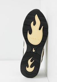 sandro - FLAME - Sneakersy niskie - python jaune - 6