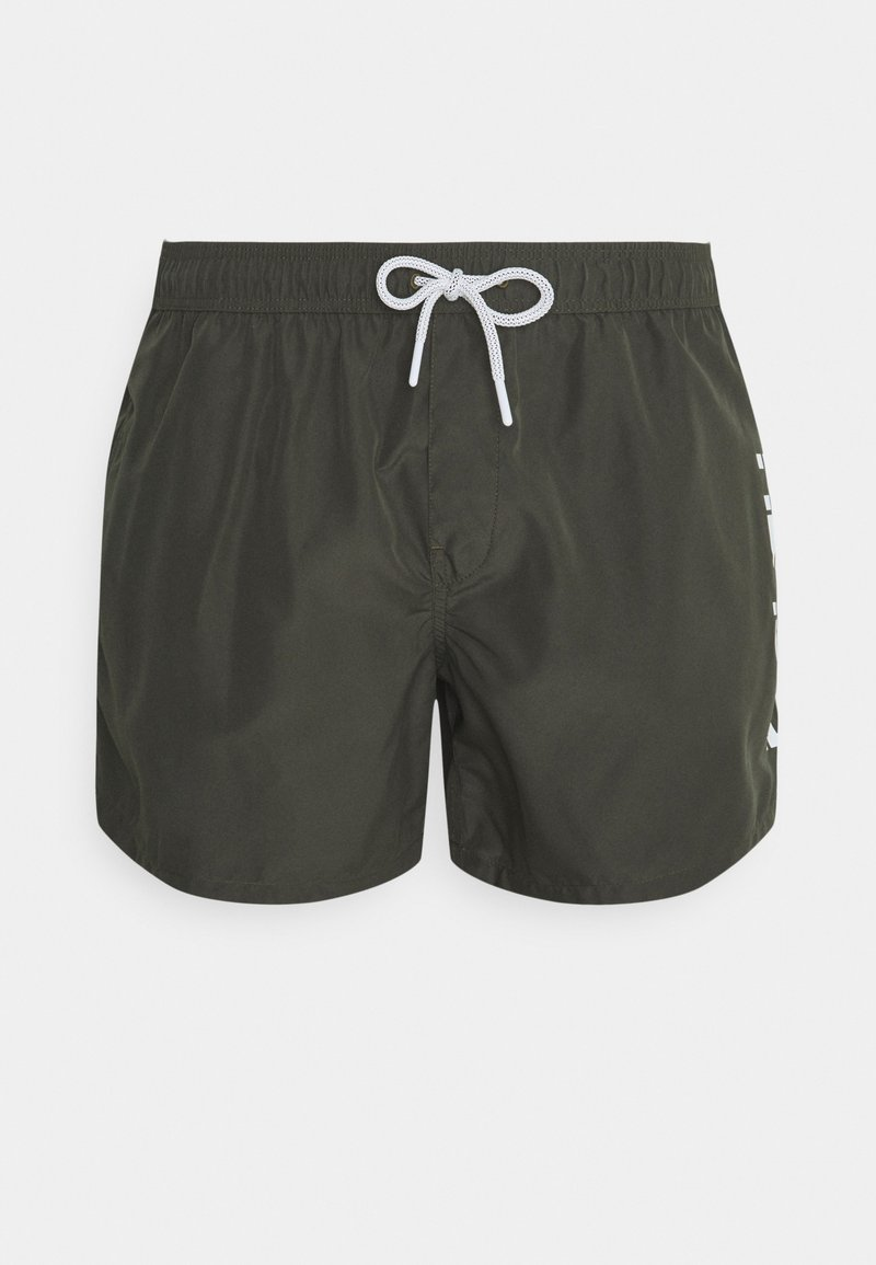Replay - BEACHWEAR - Swimming shorts - dark military