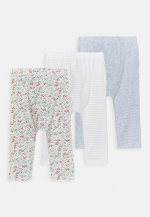 3 PACK - Leggings - Trousers - maude/cloud marle/crystal pink