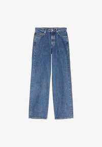 Marc O'Polo DENIM - TOMMA - Straight leg jeans - multi/dark blue salt 'n pepper - 5