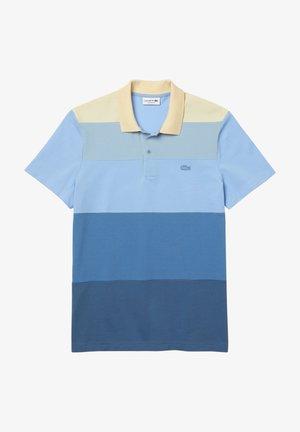 Polo shirt - blau/blau/blau/hellblau/beige