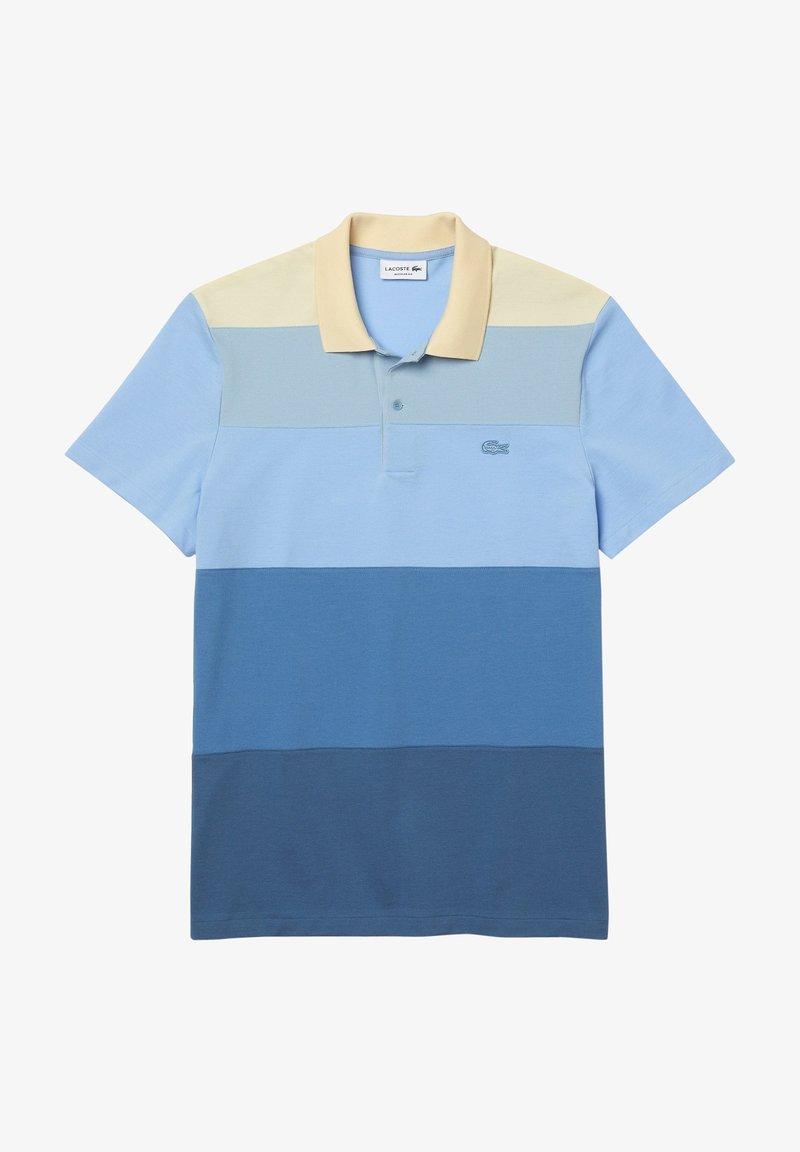 Lacoste - Polo shirt - blau/blau/blau/hellblau/beige