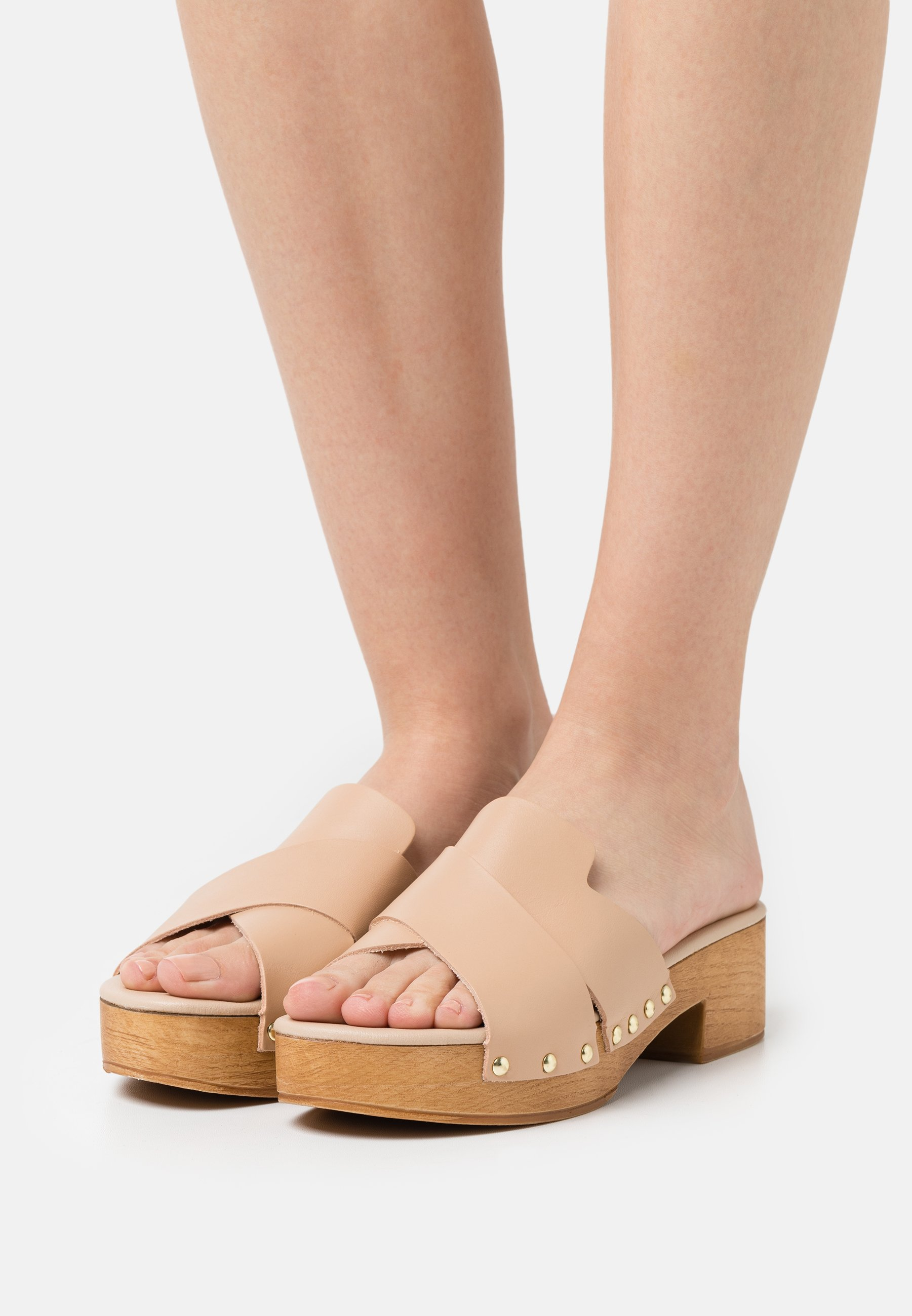 Women LEATHER - Clogs