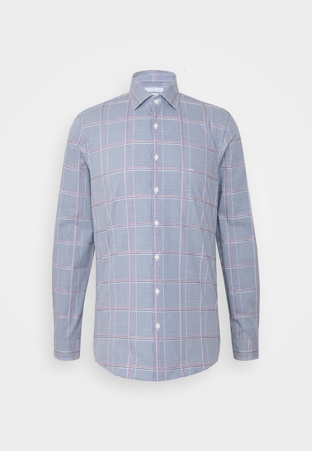 CHECK EASY CARE SLIM  - Koszula biznesowa - navy