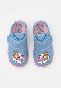 Superfit - SPOTTY - Slippers - blau - 3