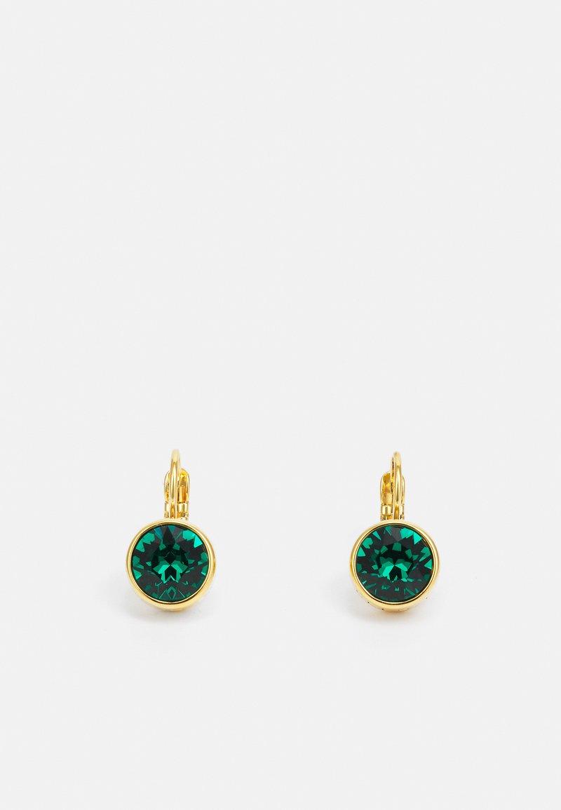 Dyrberg/Kern - LOUISE EARRING - Earrings - green/gold-coloured