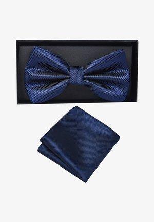 2 PIECE SET - Pocket square - dunkelblau