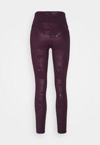 Under Armour - RUSH TONAL LEG  - Legginsy - polaris purple - 7