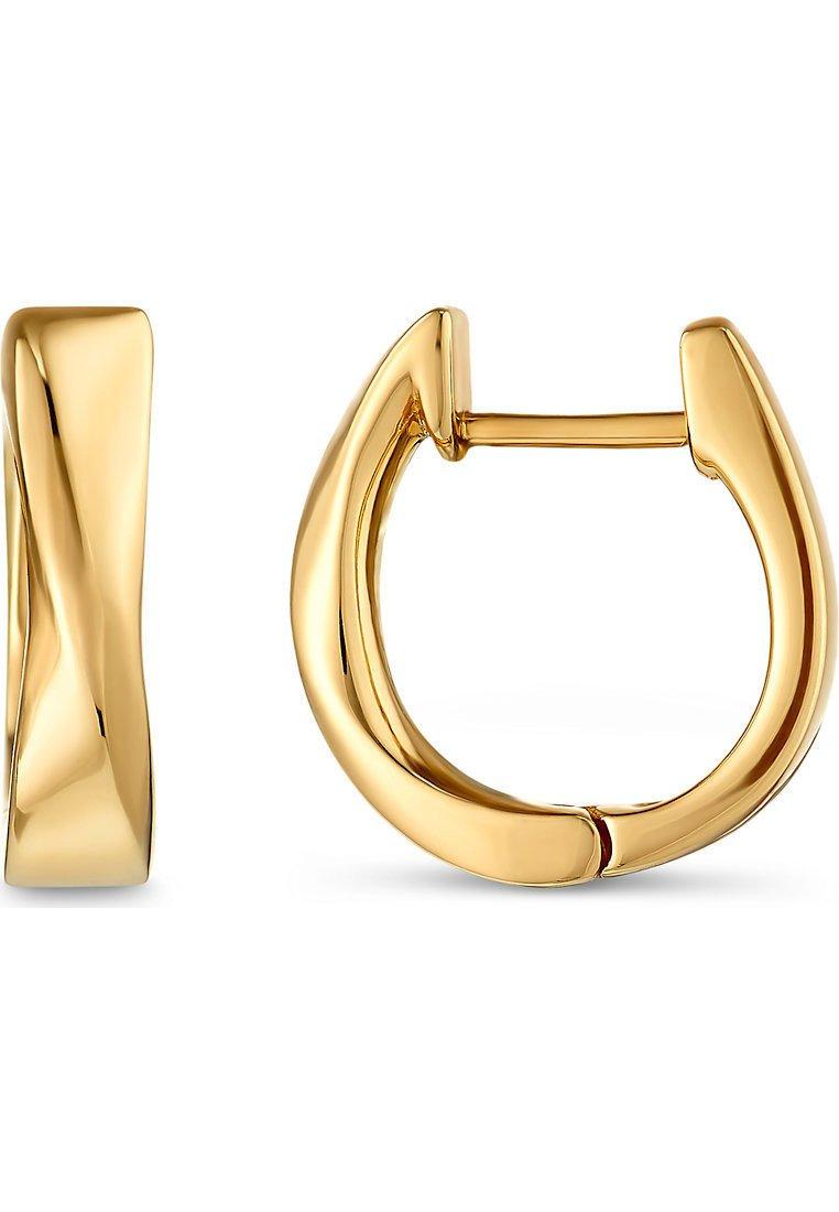 Christ Gold Ohrringe - Gelbgold/gold