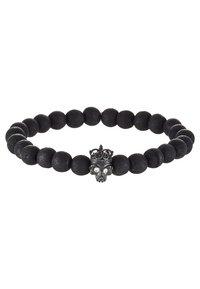 Tateossian - KING SKULL - Bracelet - black - 4