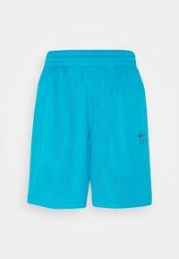 Nike Performance - FLY ESSENTIAL SHORT - Krótkie spodenki sportowe - laser blue/smoke grey - 5