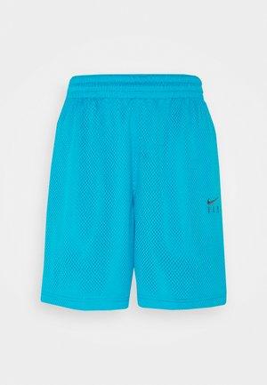 FLY ESSENTIAL SHORT - Pantalón corto de deporte - laser blue/smoke grey