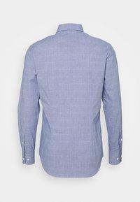 Tommy Hilfiger Tailored - DOBBY GLEN CHECK SLIM FIT - Shirt - navy/white - 1