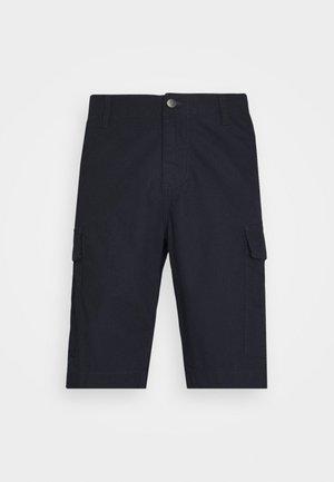 REGULAR CARGO COLUMBIA - Shorts - dark navy rinsed