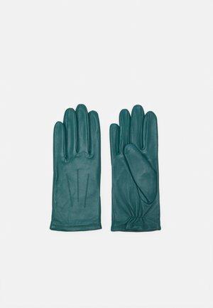 Gloves - petrol green