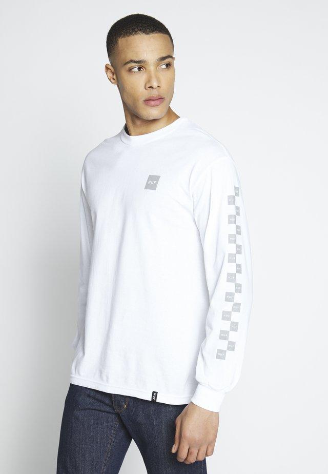 ESSENTIAL BUNNY HOP - Pitkähihainen paita - white