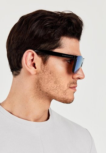 CLEAR BLUE ONE VENM HYBRID - Sunglasses - black