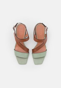 MAX&Co. - AGELICA - Sandals - brown - 5