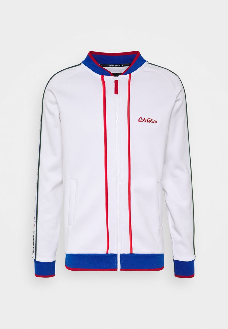 Carlo Colucci - SIDE TAPE - Bomber Jacket - white