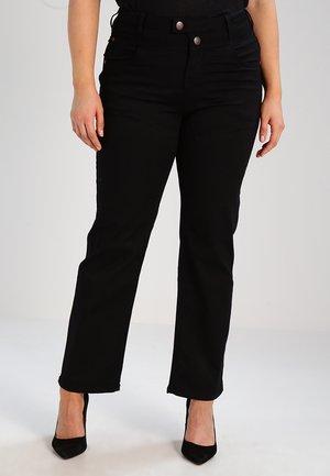 GEMMA - Straight leg jeans - black