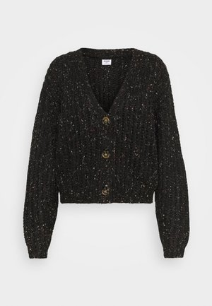 MULTI CROPPED CARDI - Cardigan - black multi