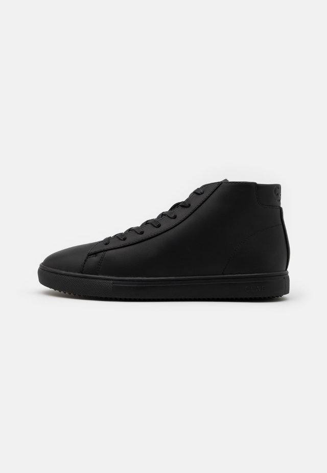 BRADLEY MID - Höga sneakers - triple black