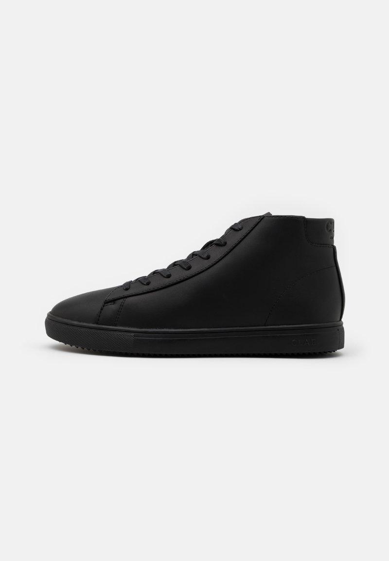 Clae - BRADLEY MID - Sneakersy wysokie - triple black