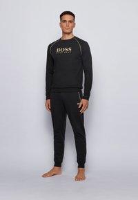 BOSS - TRACKSUIT SWEATSHIRT - Sweatshirt - black - 1