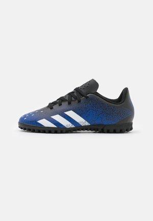 PREDATOR FREAK .4 TF UNISEX - Astro turf trainers - royal blue/footwear white/core black