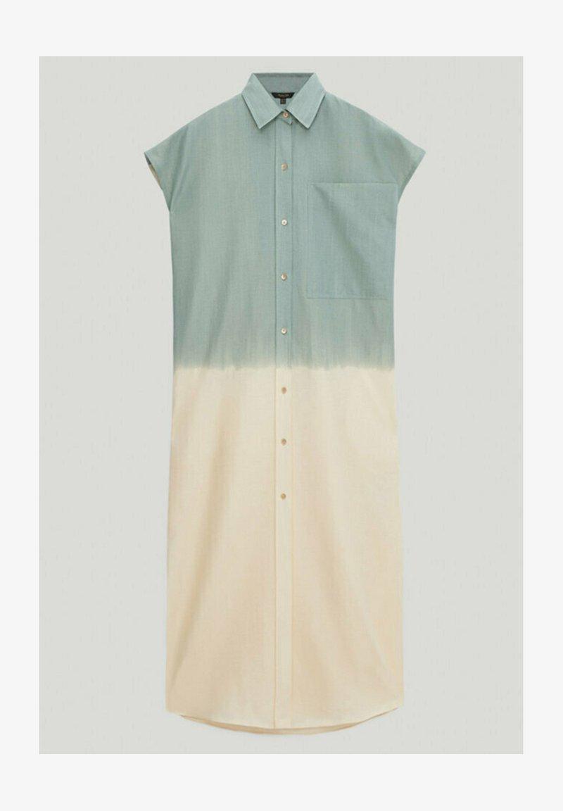 Massimo Dutti - Shirt dress - turquoise