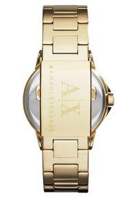 Armani Exchange - Klokke - gold-coloured - 2