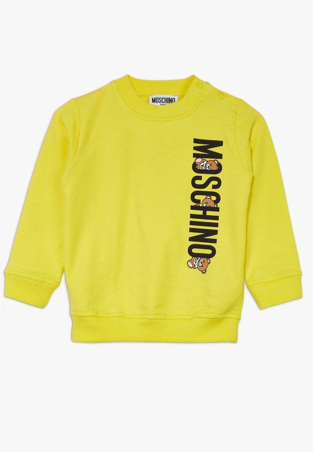 Sweatshirt - blazing yellow