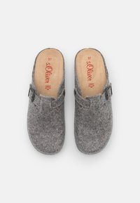 s.Oliver - Pantoffels - light grey - 5