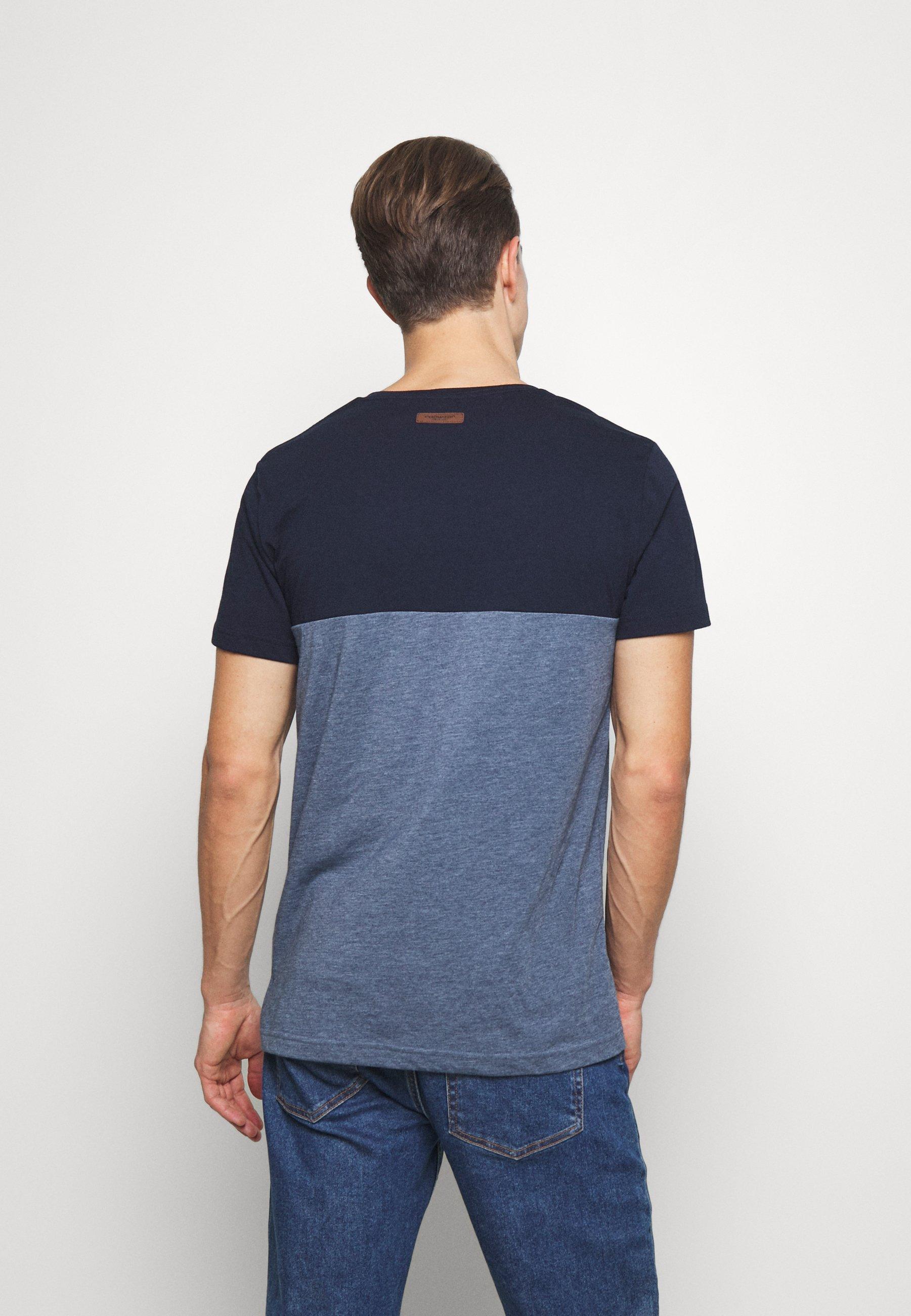 Ragwear BLANT - Print T-shirt - blue KwwkC