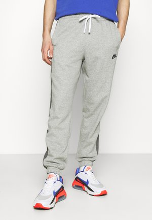 Pantaloni sportivi - dark grey heather/charcoal heather/white/black