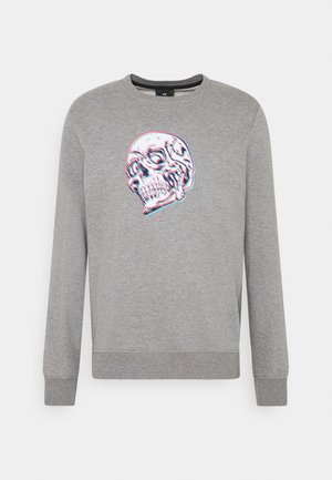 MENS REGULAR FIT SKULL - Sweatshirt - grey
