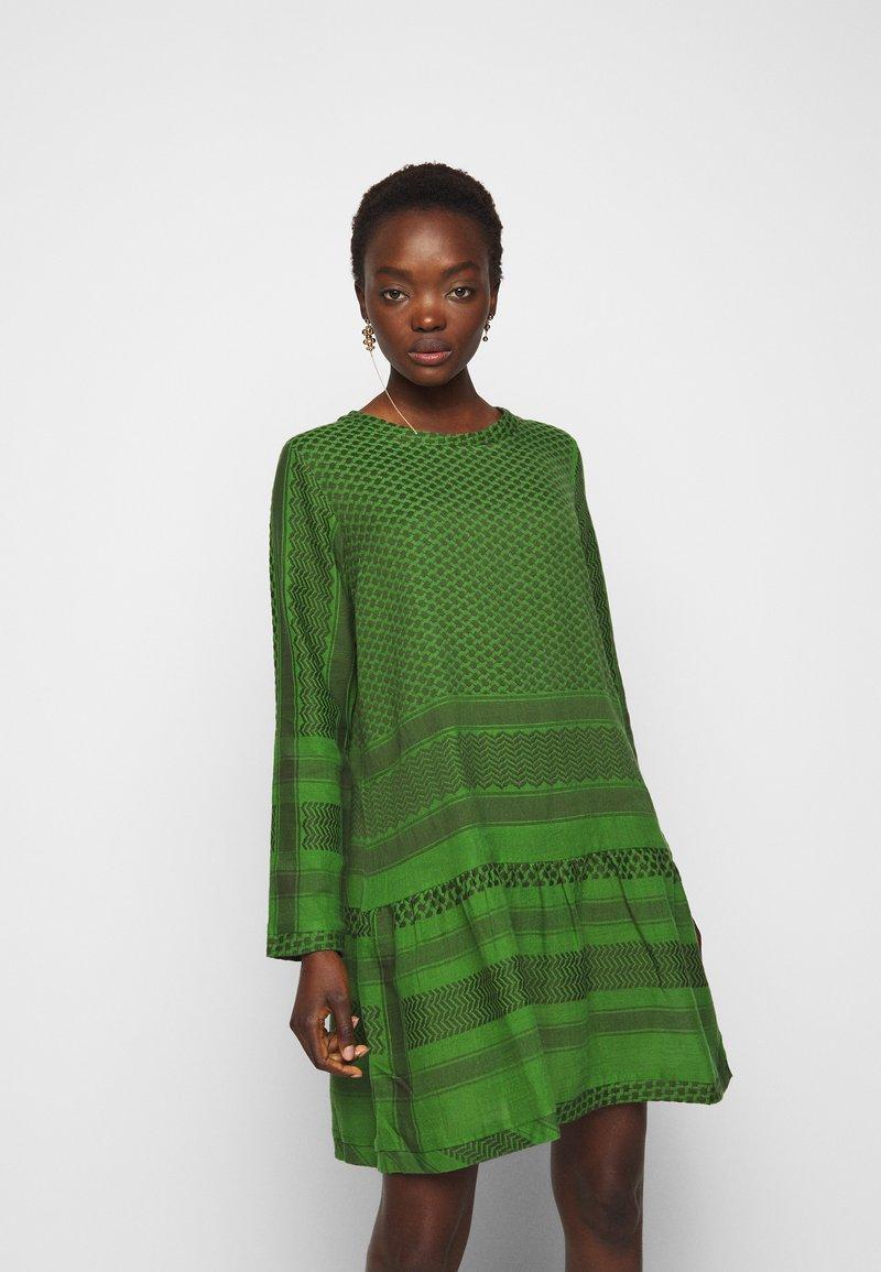 CECILIE copenhagen - DRESS - Day dress - moss