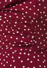 Fashion Union - CUTIE - Kjole - burgundy - 2