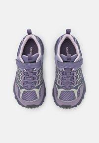 Merrell - MOAB FST LOW WTRPF UNISEX - Hiking shoes - cadet/purple ash - 3