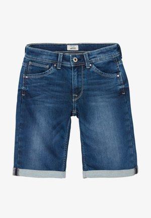 CASHED - Jeansshort - denim