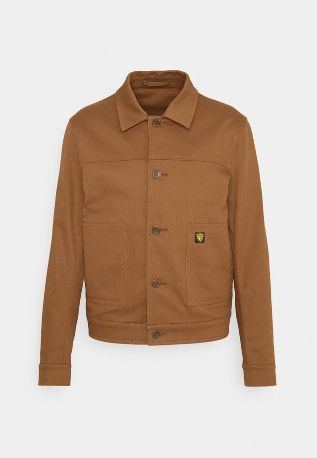 KASAR - Lehká bunda - rustic brown
