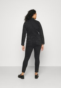 ONLY Carmakoma - CARCALLI ZIP - Jumpsuit - black denim - 2