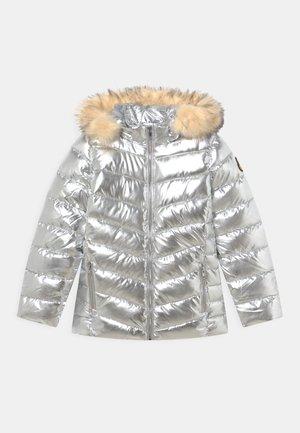 BLAZE - Winter jacket - silver-coloured