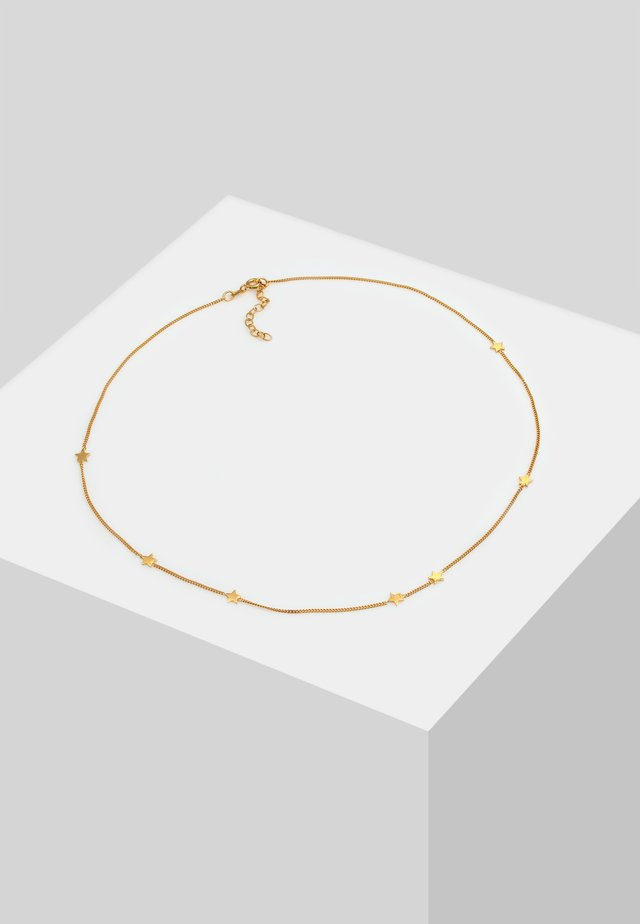 CHOKER STERN ASTRO LOOK - Collier - gold